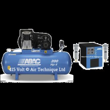 18 cfm Abac PRO B4900 200L FT4 Dryer Package