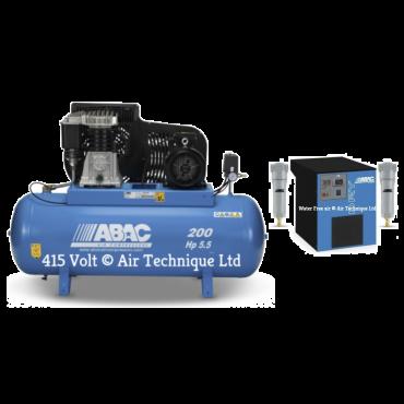 23 cfm Abac PRO B5900 200L FT5.5 Dryer Package