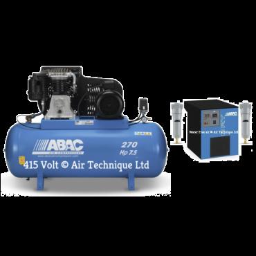 28 cfm Abac PRO B6000 270L FT7.5 Dryer Package