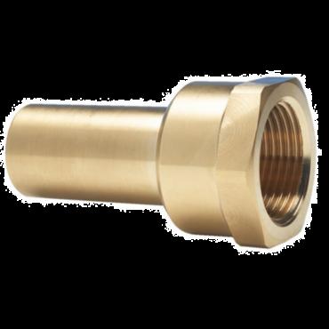 "Female Stem Adaptor 22mm to 3/4""BSPT"