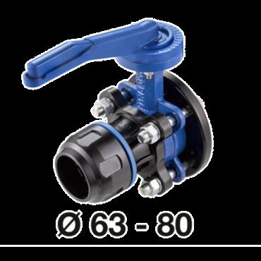 Prevost 63mm x 2 bsp Parallel female Valve for Pipe