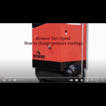 Airwave VARI-Speed Compressor Changing Pressure Reading