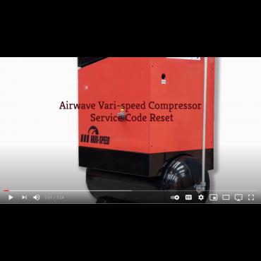 Airwave VARI-Speed Compressor Service Reset Code