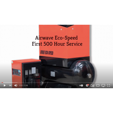 Airwave ECO-Speed Rotary Screw Air Compressor First 500 Hour Service
