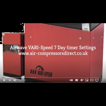 Airwave VARI-Speed Rotary Screw Air Compressor 7 Day Timer