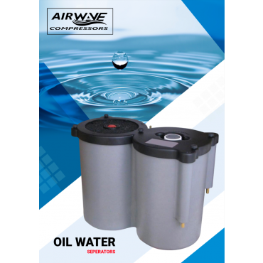 500 cfm CT 15 Oil-Water Separator for Treating Condensate