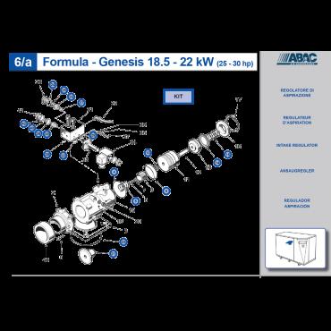 Intake Valve Kit 15-18.5-22kw Genesis BA69