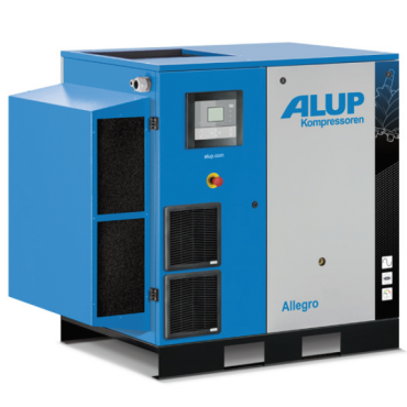 Alup Allegro 15 Variable Speed 105 cfm @ 7 bar 15kw Floor Mounted