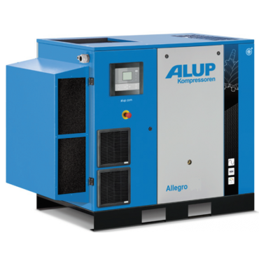 Alup Allegro 22 Variable Speed 141 cfm @ 7 bar 22kw Floor Mounted + Dryer