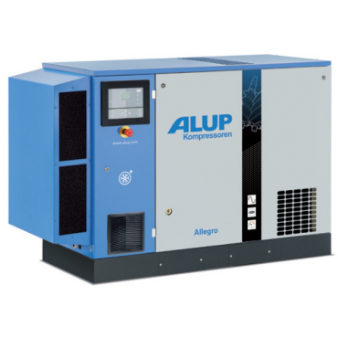 Alup Allegro 11 Variable Speed 66.2 cfm @ 7 bar 11kw Floor Mounted + Dryer