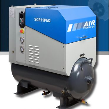 SCR 20PM2 10 bar 74 cfm Permanent Magnet variable Speed 15kw Rotary screw Air Compressor
