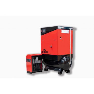 Airwave Vari-Speed Permanent Magnet 11kw 52 cfm @ 10 Bar 300L Tank Mounted + Dryer + Free Options