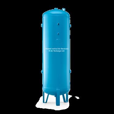 "5000 ltr vertical air receiver 3"" bsp Port Outlets"