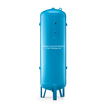 "1000 ltr vertical air receiver 2"" bsp Port Outlets"
